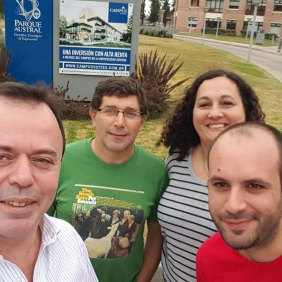 Bienvenida a los Nuevos Profes Sonia y Fernando